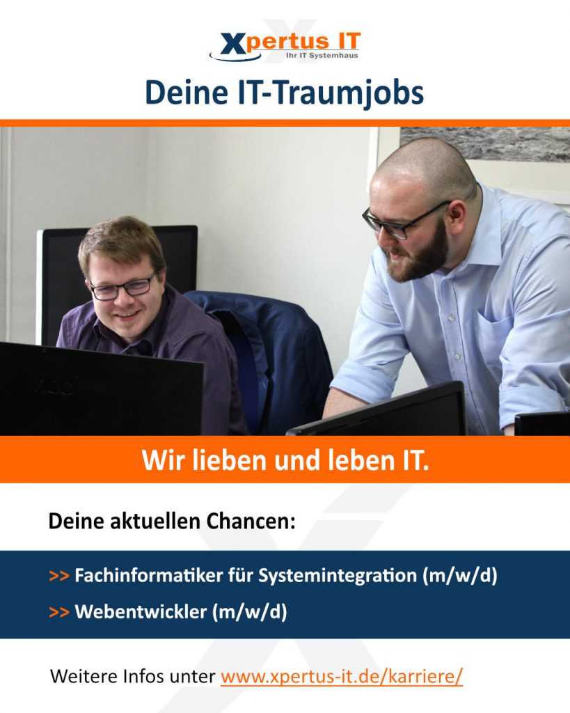 IT-Traumjobs