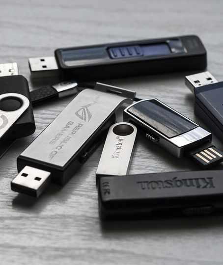 Gekaufte USB-Sticks